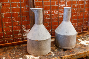 French Zinc Cream Churns