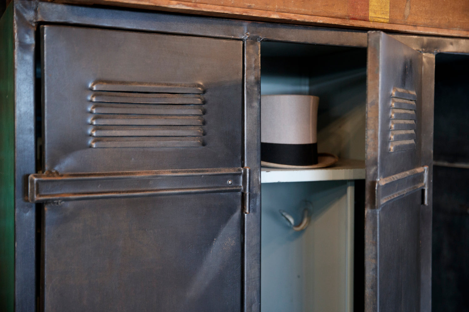 1930's French Industrial Locker