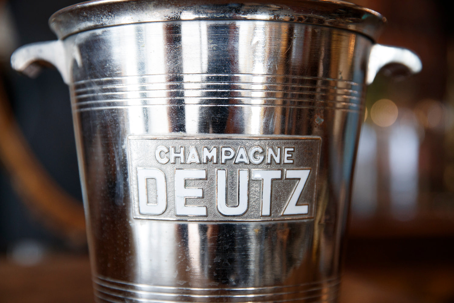 Silver Plated Deutz Champagne Bucket