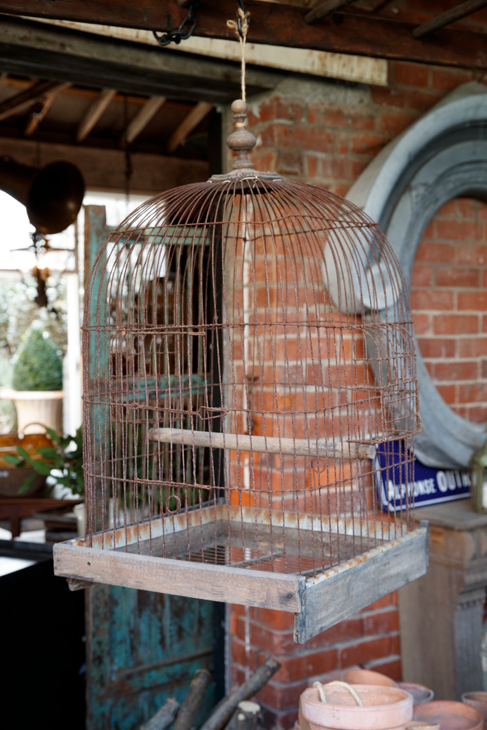 Vintage French Birdcage- No 1