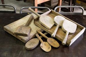 French Wooden Paddles & Servers