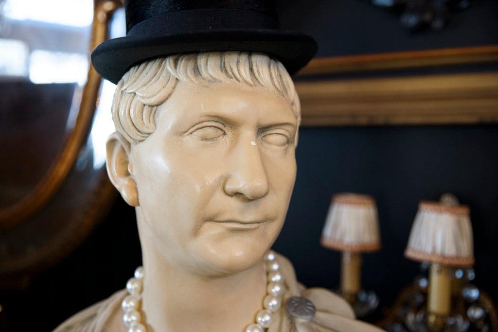 French Nero Plaster Bust