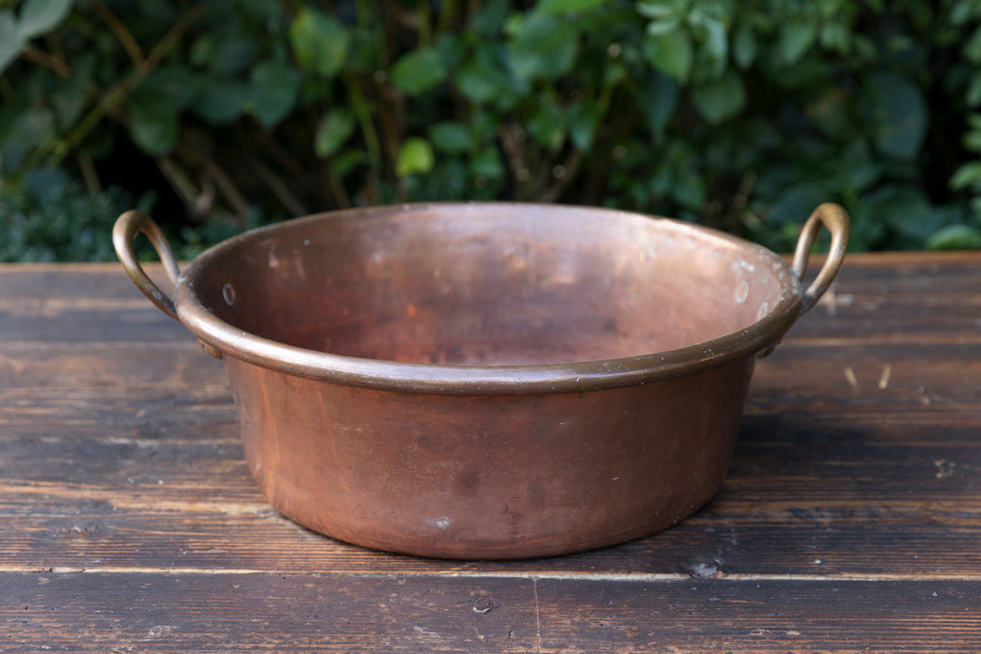 Antique French Chocolate Copper - No 4