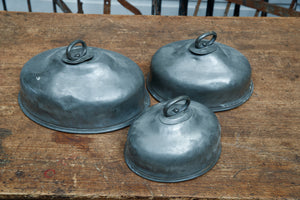 French Pewter Cloches