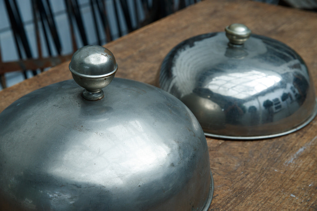 19th Century Belgium Ice Cream Cloches