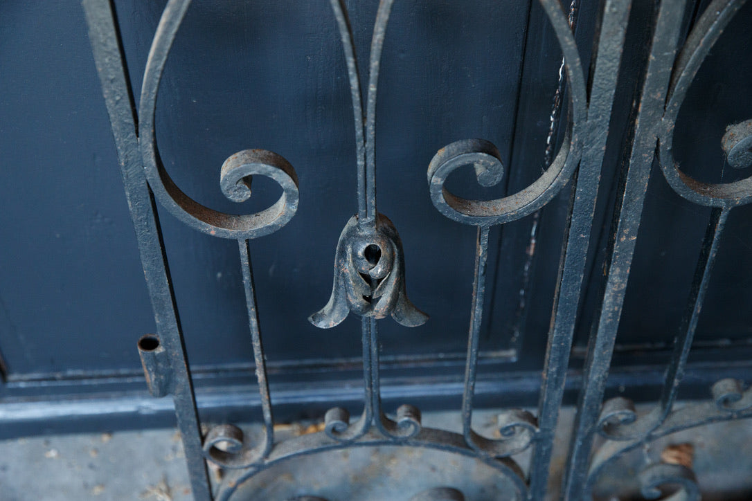 French Wrought Iron Gates