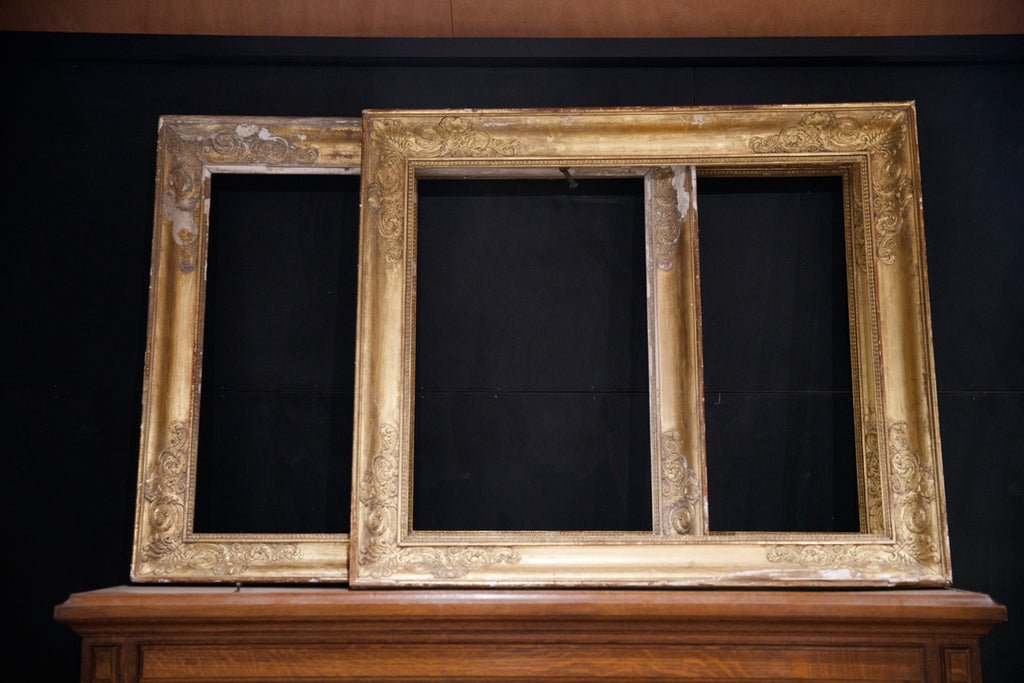 Original 19th Century French Gilded Frames