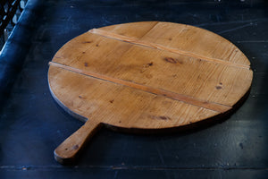 Antique French Large Round Bread Boards