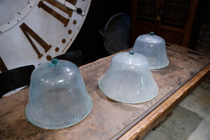 Vintage French Glass Garden Cloches