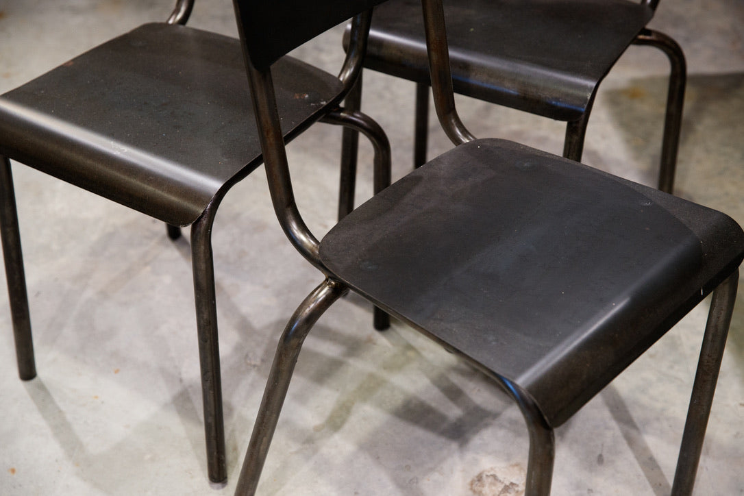 1930's French Industrial Chairs