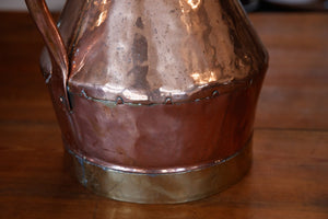 Polished French Copper Vineyard Jug