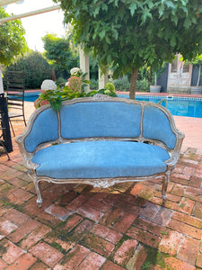 19th Century French Petite Sofa - Love Seat
