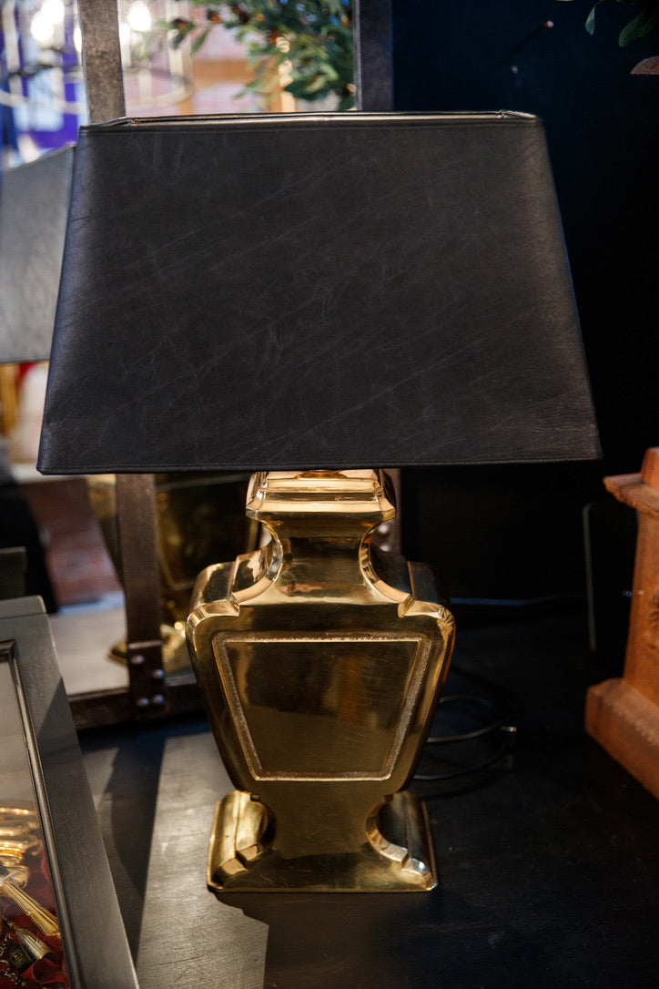 Stunning French Mid Century Brass Lamp