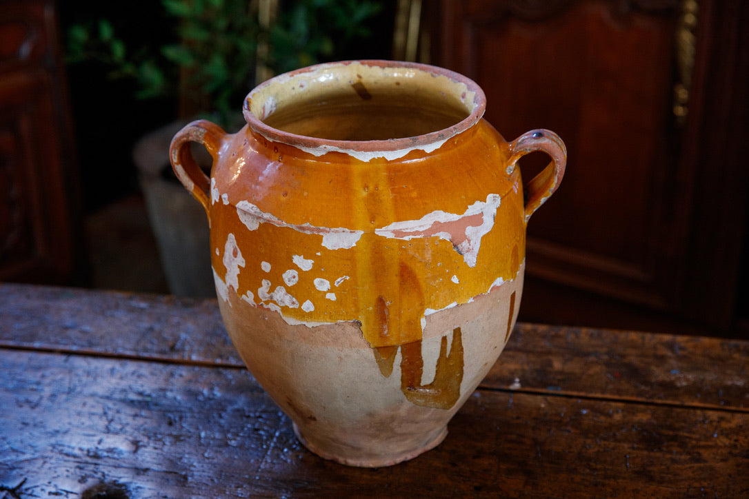 Large French Confit Pot