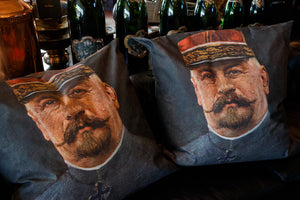French Portrait Cushions