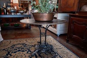 French Iron Garden Bistro Table