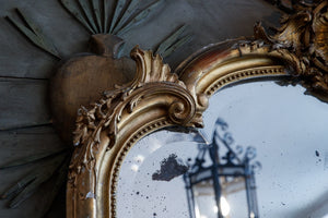 Original 19th Century French Mirror