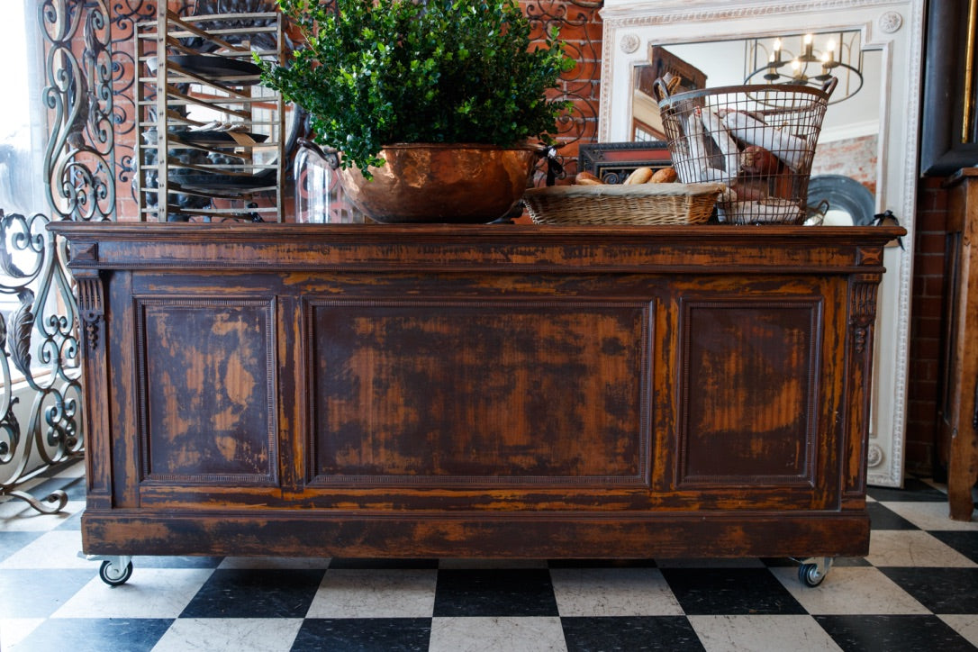 1930's French Bar/Kitchen Island