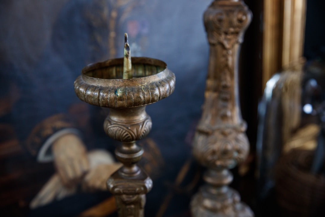 19th Century French Altar Candlesticks
