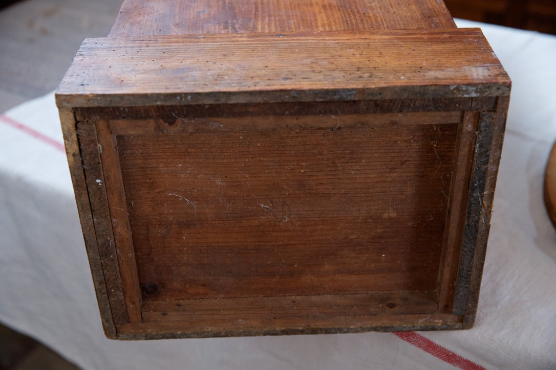 Vintage French Wooden Baguette Box