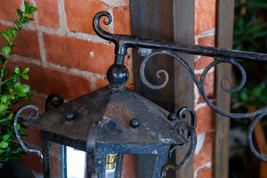 French Wrought Iron Lanterns