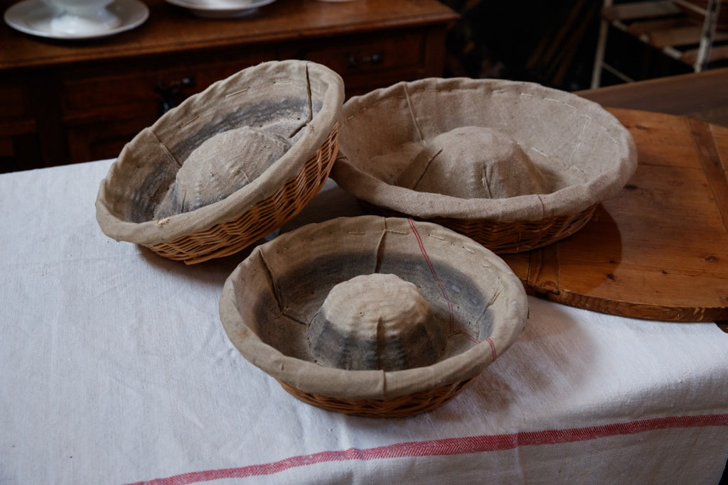 Vintage French Bread Baskets