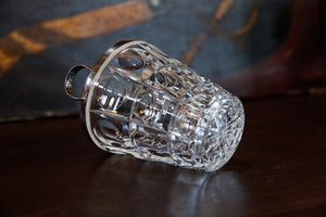 French Mid Century Crystal Ice Bucket