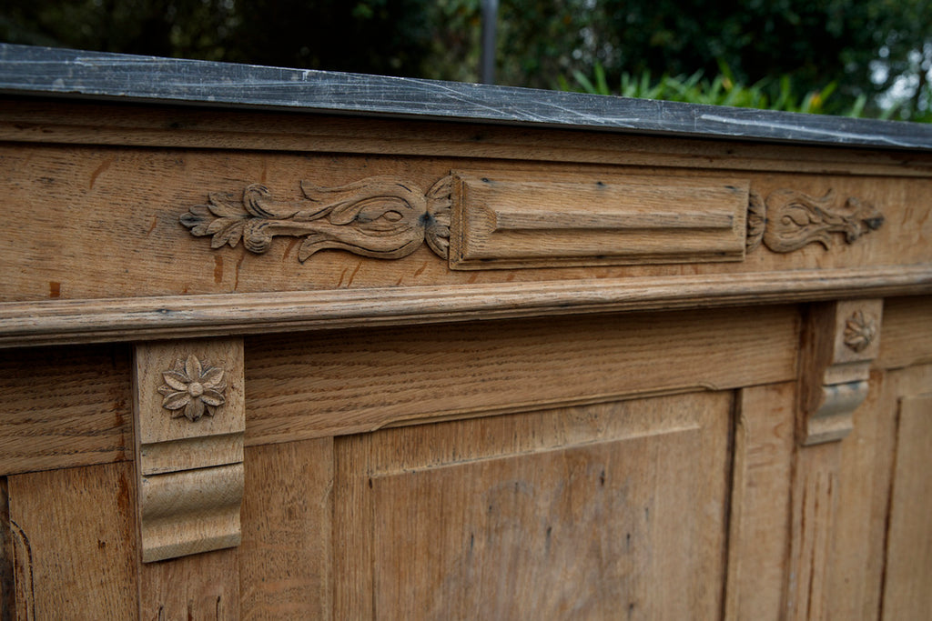 French Bleached Oak Counter