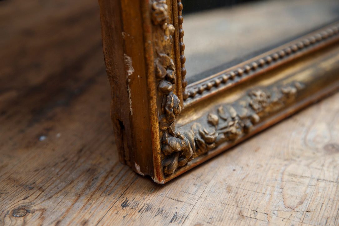 Napoleon III French Mantle Mirror
