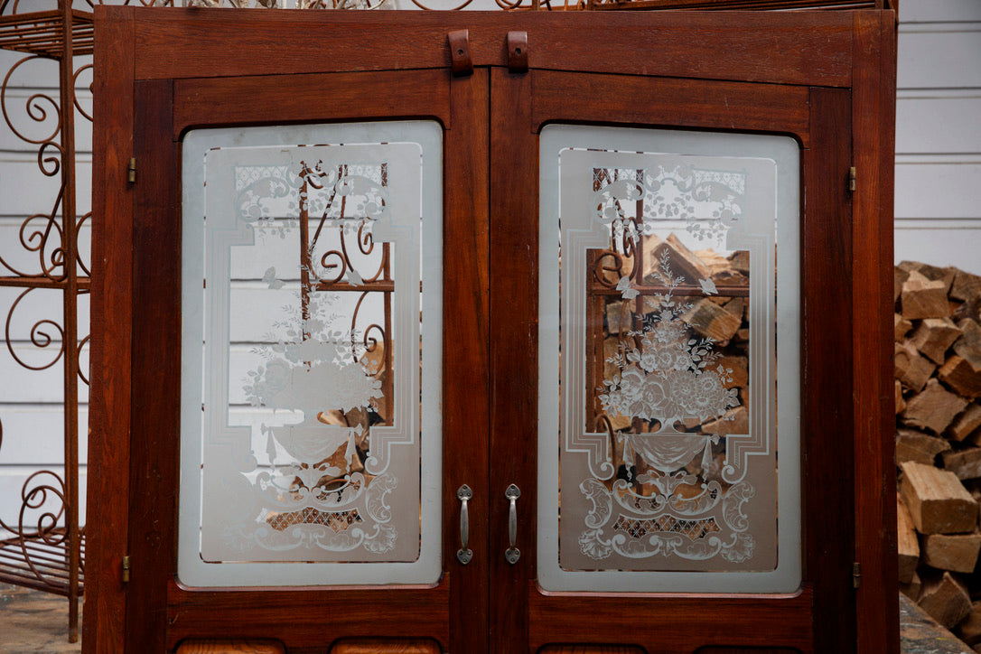 French Bistro Cupboard Doors