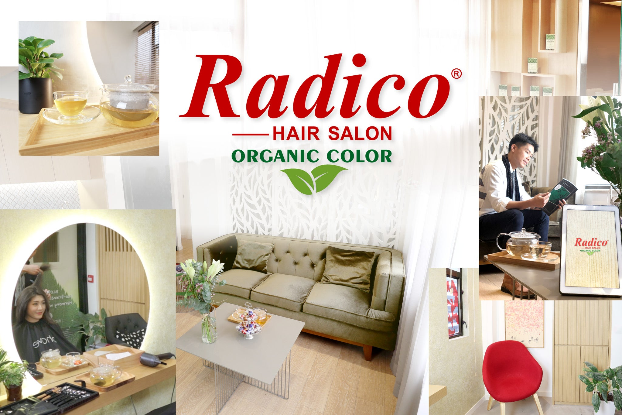 salon Radico Hair Salon 有機染髮中心
