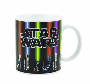 Star Wars Lightsaber Heat Reveal Mug Color Change Colors