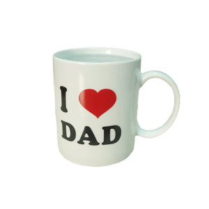 """I love Dad"" Mugs Heat Sensitive Mug Coffee Mug"