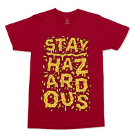 Stay Hazardous (Cranberry) Men