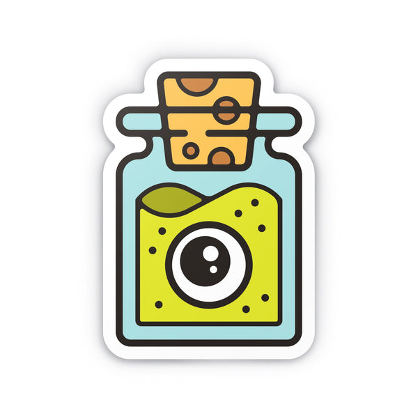 "Specimen #1 4"" Sticker"