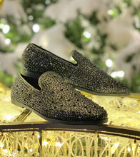Diamond Black Loafers