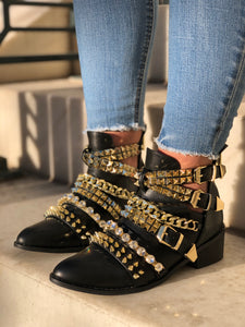 Grind gold ornament bootie 2020 Collection