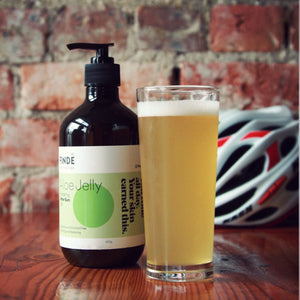 Aloe vera gel - skincare for cyclists