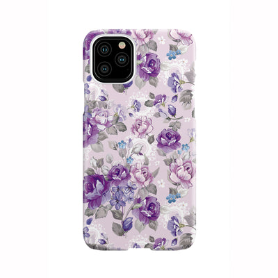 Purple Rose Garden Phone Case
