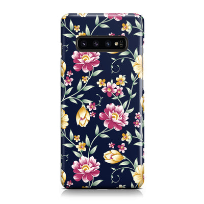 Navy Daisy Garden Phone Case