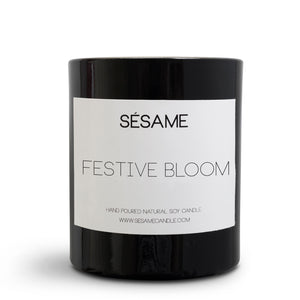 Festive Bloom Medium Candle