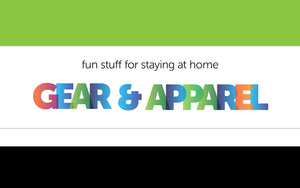 Collections header for Gear and Apparel category