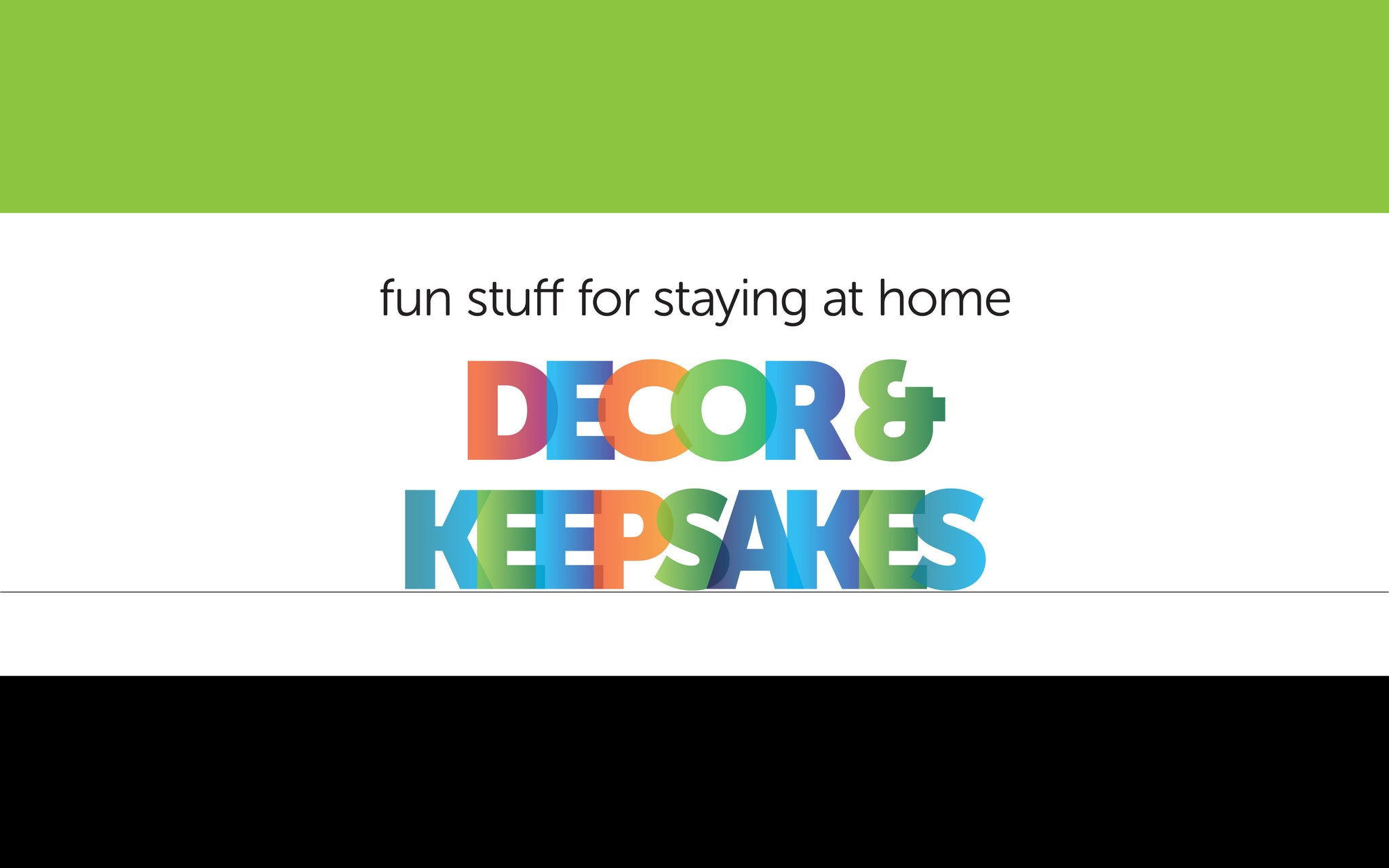 Décor & Keepsakes