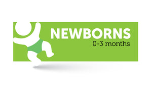 Age infographic: Newborns 0 to 3 months