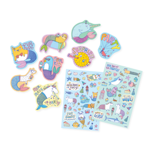 GIFTABLES - HAPPY PACK - UNICORN & MERMAID PARTY