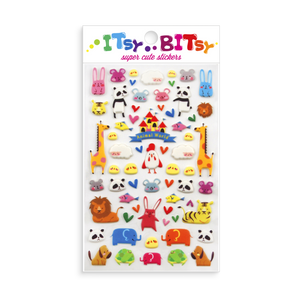 ITSY BITSY STICKERS - ANIMAL WORLD