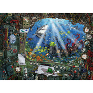 Escape Puzzle - Submarine - 759 pieces