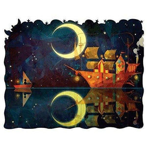 Nadiezda - Night Ship -Heirloom-Quality - Wooden Jigsaw Puzzle