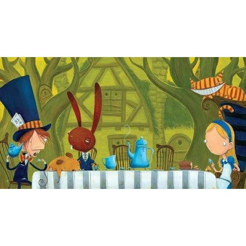 Justin Hillgrove - Mad Tea Party - Heirloom-Quality - Wooden Jigsaw Puzzle