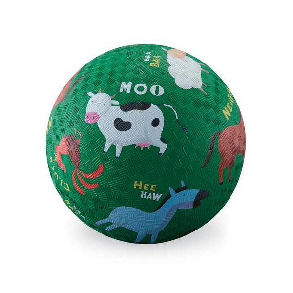 7-inch  PLAYGROUND BALL-BARNYARD